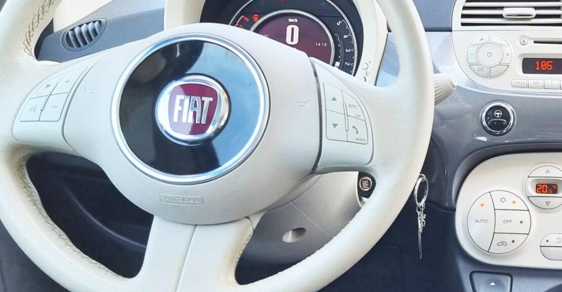 Interni Fiat 500 Concessionario Savigliano